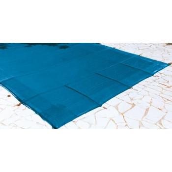 Bâche couverture hivernage de sécurité FILET SUP piscine 6 x 3 mètres