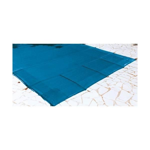 Bâche couverture hivernage de sécurité FILET SUP piscine 7 x 3.5 mètres