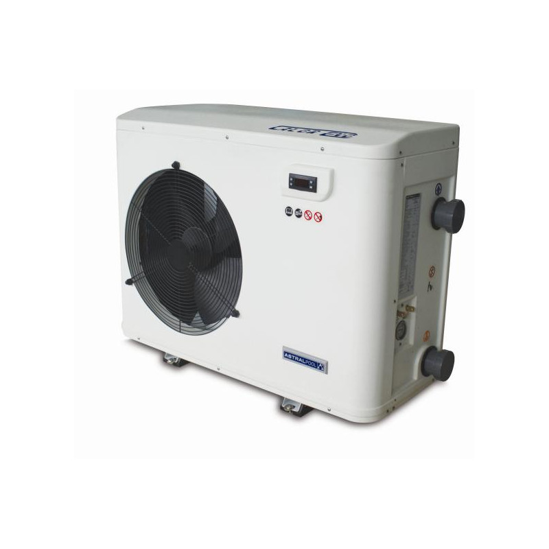 Pompe chaleur piscine astral calor evo 21 kw mono pas for Pompe piscine astral