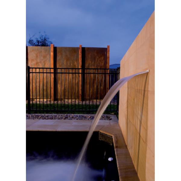 cascade d 39 eau pour piscine silkflow 300 mm astral id. Black Bedroom Furniture Sets. Home Design Ideas