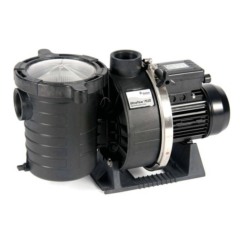 Pompe filtration piscine pentair ultra flow plus 3 cv mono for Pompe filtration piscine