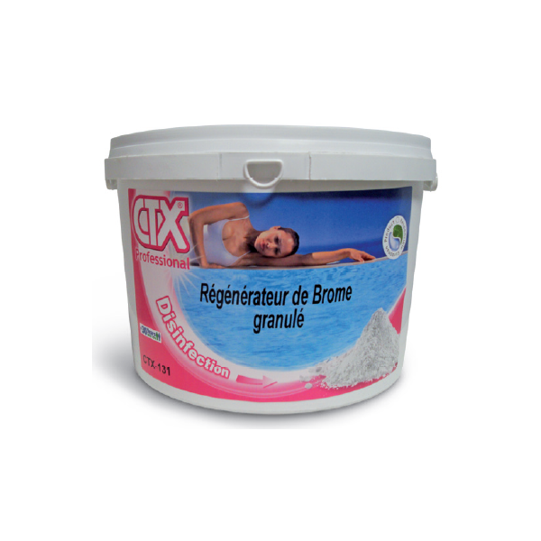 R g n rateur brome choc 5 kg astral ctx 131 for Brome piscine pas cher