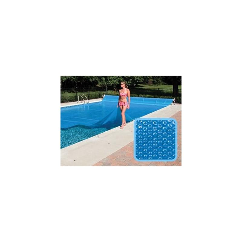 Bâche à bulles piscine Linxor rectangulaire 8 x 4 mètres - 300 microns
