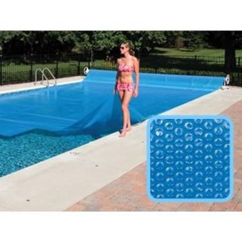 Bâche à bulles piscine Linxor rectangulaire 6 x 12 mètres - 300 microns