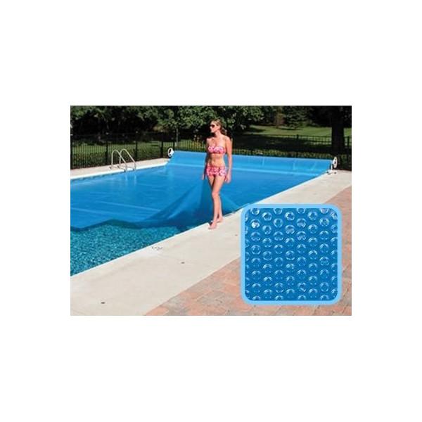 Bâche à bulles piscine Linxor rectangulaire 6 x 3 mètres - 300 microns