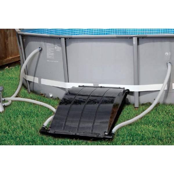 Panneau solaire smartpool solar arc pour piscines hors sol for Chauffage bois pour piscine