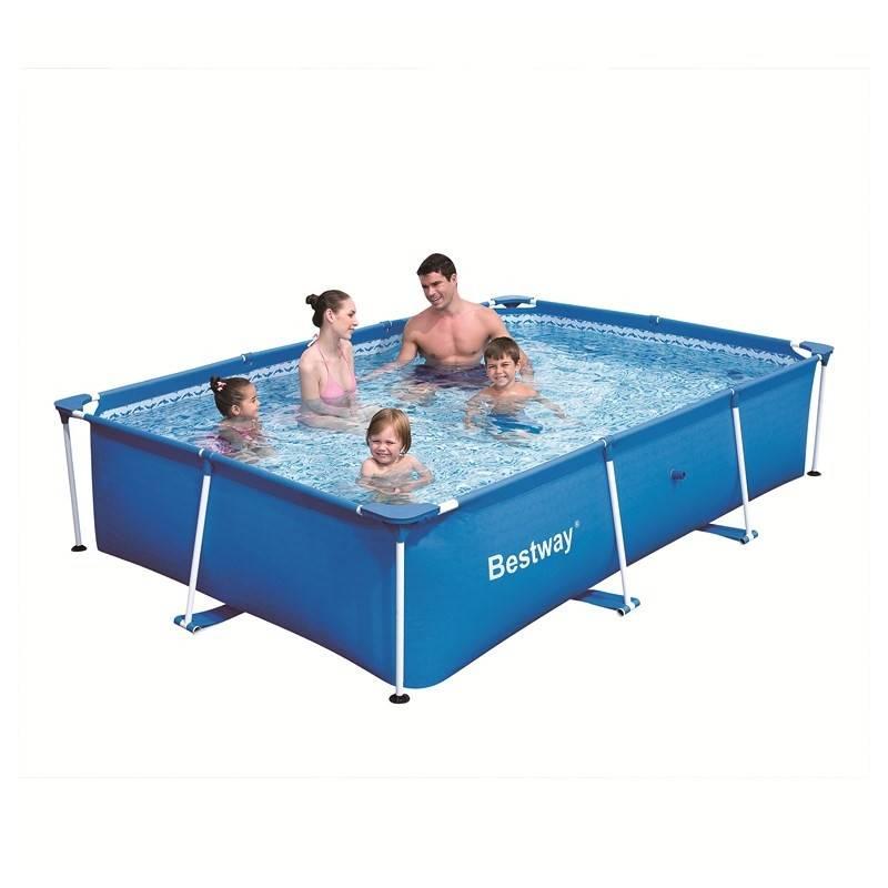 piscine hors sol tubulaire splash frame pools rectangulaire 239 x 150 h 58. Black Bedroom Furniture Sets. Home Design Ideas