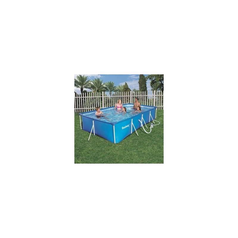 piscine hors sol tubulaire family splash frame pools rectangulaire 400 x 211 h 81. Black Bedroom Furniture Sets. Home Design Ideas