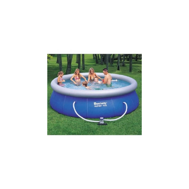 Id piscine for Piscine gonflable ronde