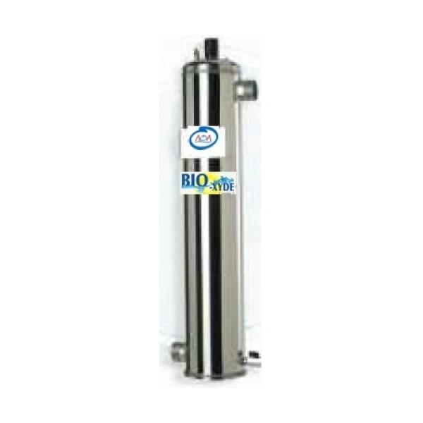 D sinfection par uv et ozone bio xyde complexe 3 aoa pour for Traitement eau piscine uv