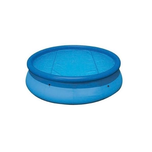 Bâche à bulle piscine Linxor ronde diamètre 3,66 mètres