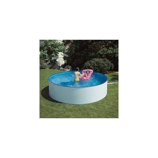 Piscine hors sol ronde lanzarote pas cher id piscine for Piscine ronde pas cher