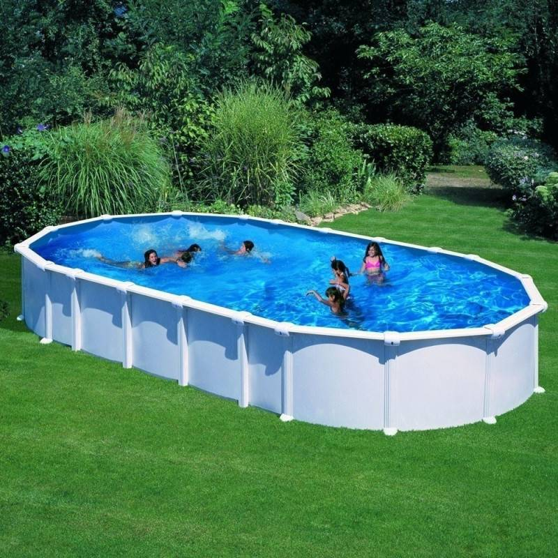 Piscine hors sol dream pool ovale haiti 610 x 375 h 132 for Garden pool haiti
