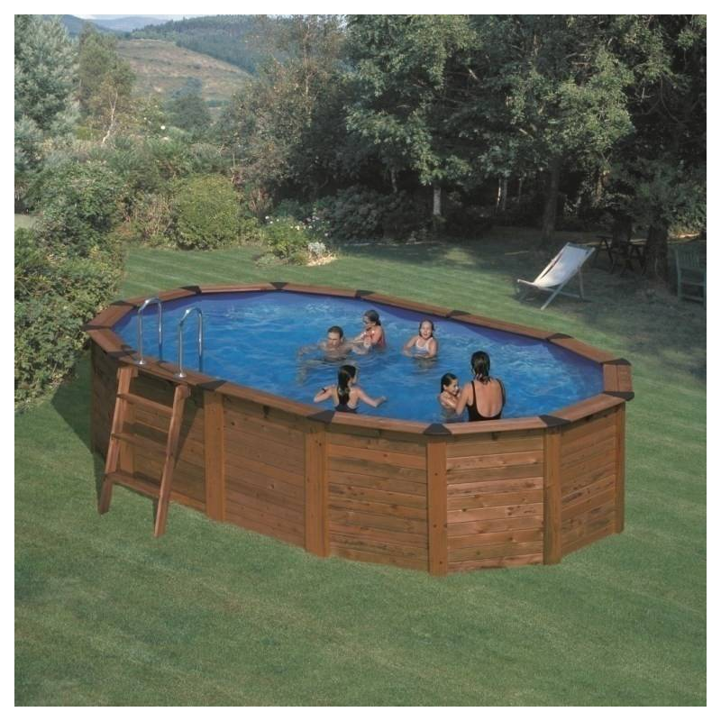 Piscine hors sol san marina ovale island d ext 535x345 h120 for Piscine hors sol ovale pas chere