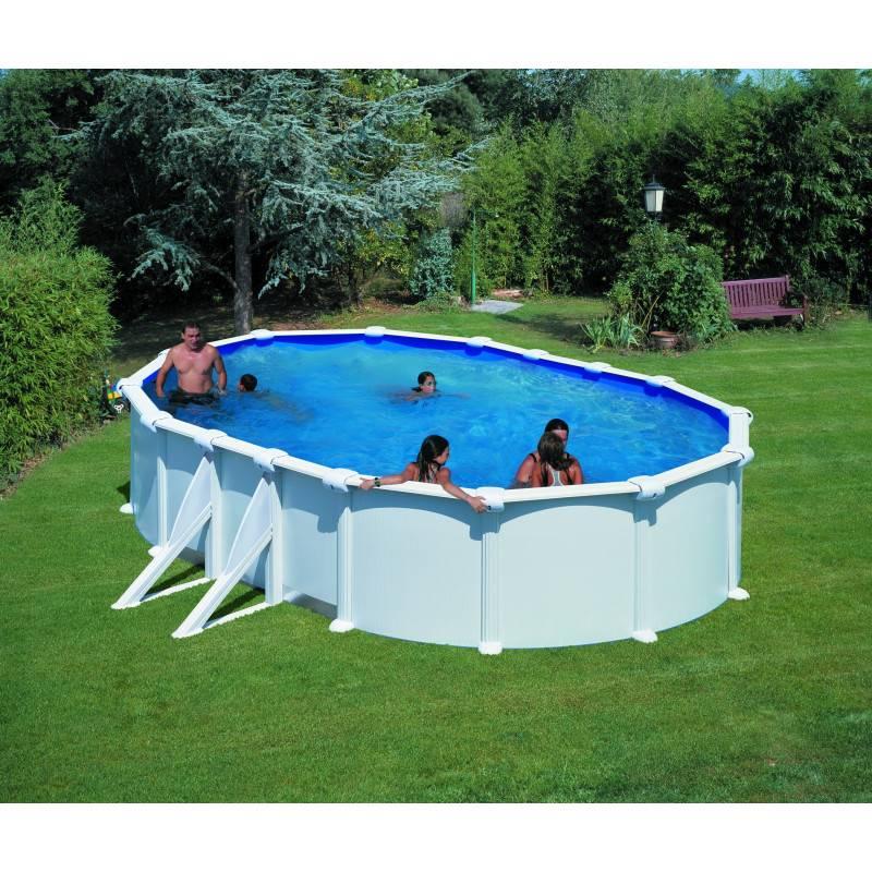 piscine hors sol san marina ovale fidji 610 x 375 h 120. Black Bedroom Furniture Sets. Home Design Ideas
