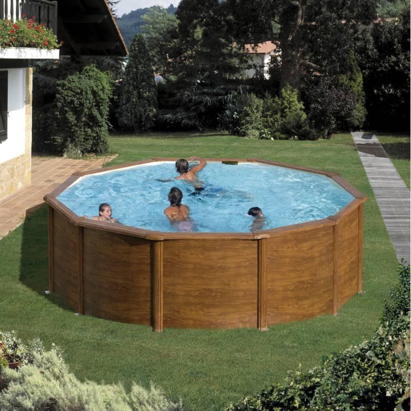 Piscine hors sol san marina ronde pacific diam 350 h 120 for Acheter une piscine pas cher