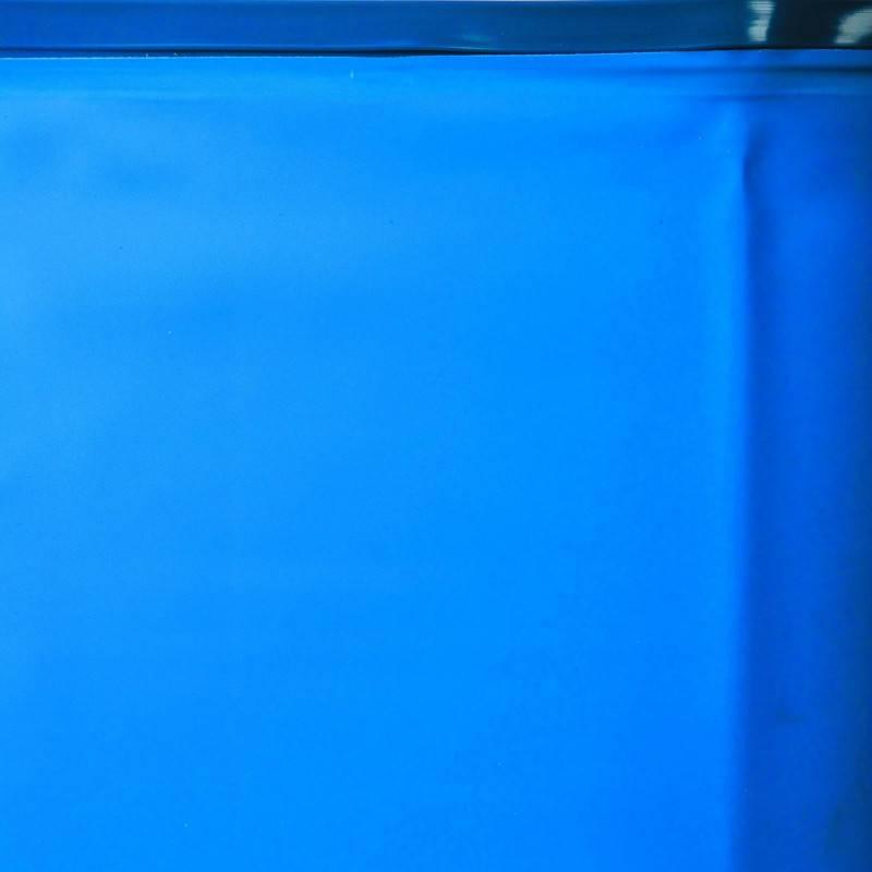 Liner bleu overlap piscine ronde d 350 h 90 pas cher for Liner piscine ronde pas cher