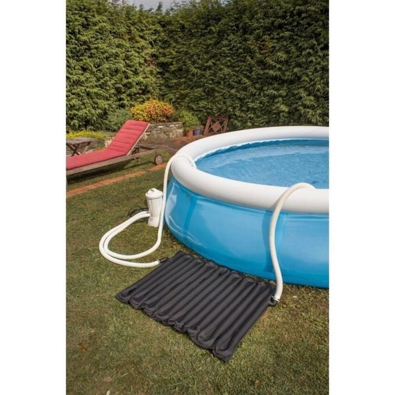 R chauffeur panneau solaire pour piscines hors sol max 8 10 m3 for Panneau solaire piscine