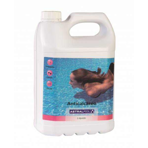 Anti calcaire ctx 600 5 litres astral ctx id piscine for Tac produit piscine