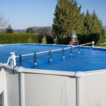 Enrouleur de bâches piscines hors sol