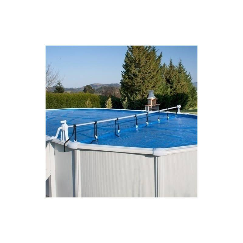 B che bulles piscine for Enrouleur bache piscine intex