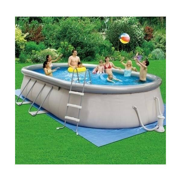 Piscine autoportante garden leisure fun pas cher id piscine for Piscine hors sol boudin