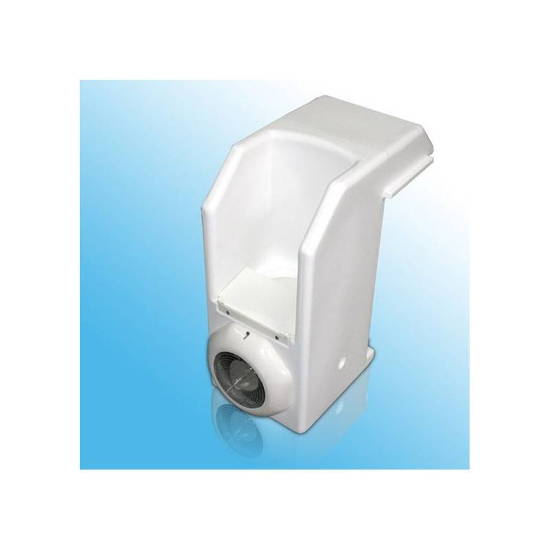 Bloc skimmer pvc avec clairage water clip ex cristaline for Piscine pvc pas cher