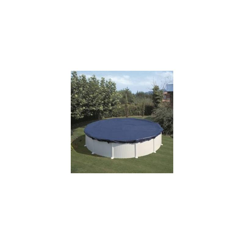 Bâche couverture d'hivernage Gré ronde diamètre 4,80 m