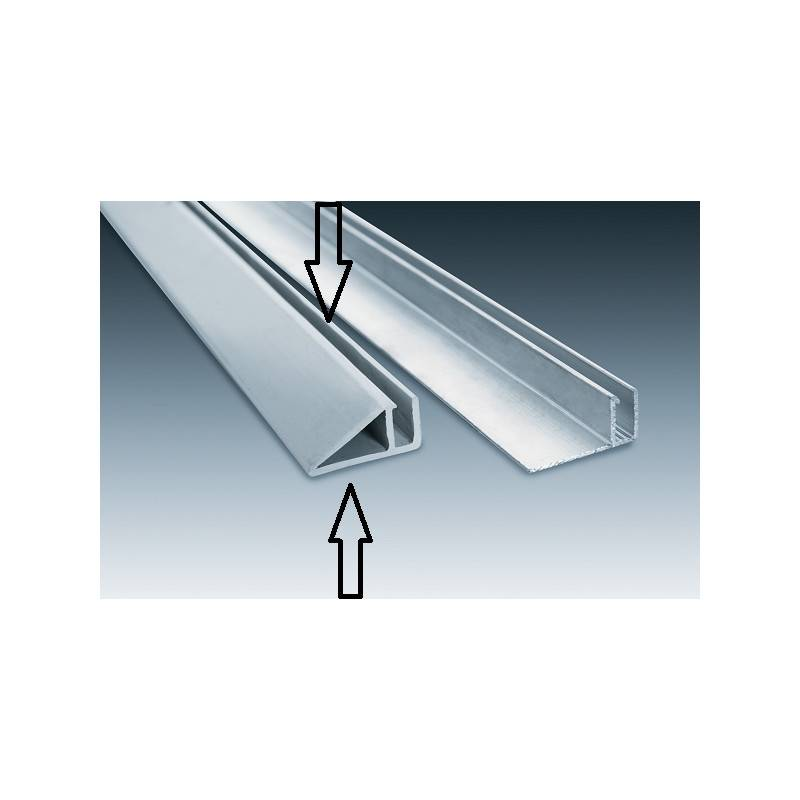 Rail hung vertical pvc barre de 2 5 m tres for Pvc arme piscine pas cher