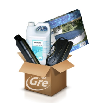Pack Hivernage GRE - Piscine ovale 8 x 4,70 m