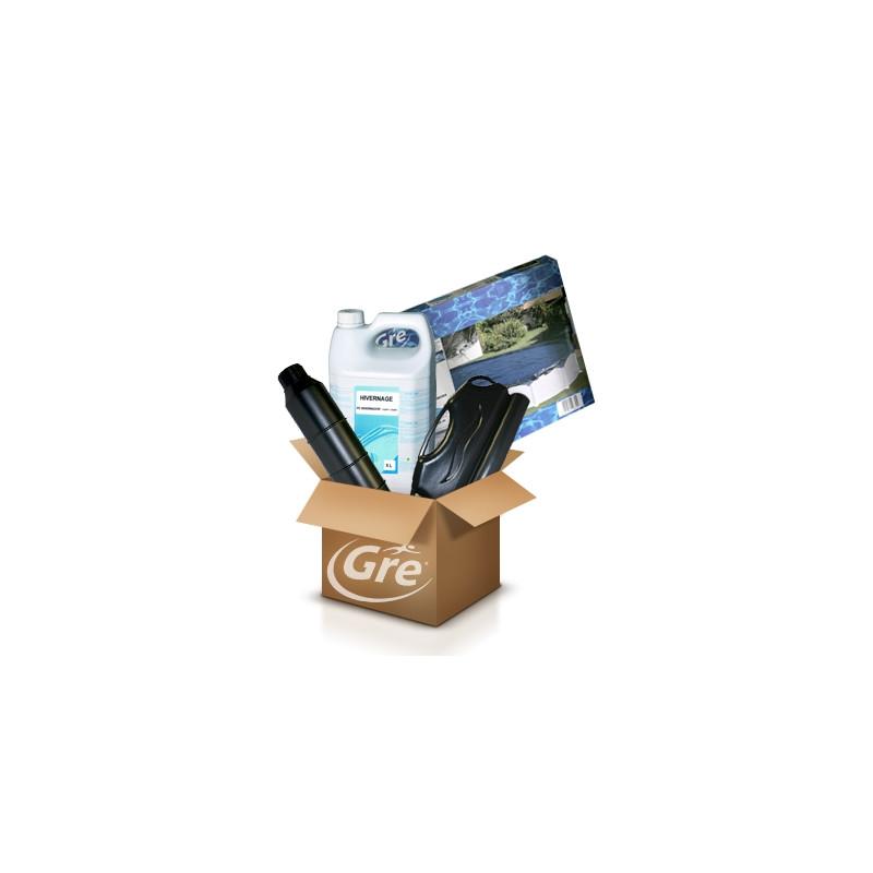 Pack Hivernage GRE - Piscine ronde diam 4 m