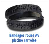 bandage roues avant robot zodiac ov 3400