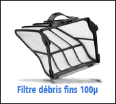 filtre zodiac ov3400 débris fins