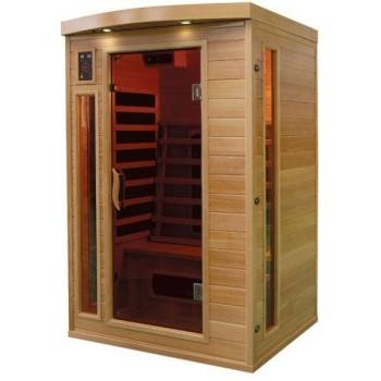 Sauna Infrarouge Bois Hemlock Astral - 2 places