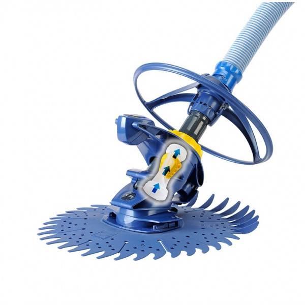 Jeu de 6 tuyaux de 1 m TWIST LOCK Robot hydraulique Zodiac