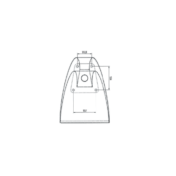 Cascade Inox 350 mm Astral