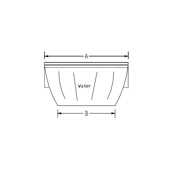cascade d 39 eau silkflow pour piscine 1200 mm astral pas. Black Bedroom Furniture Sets. Home Design Ideas