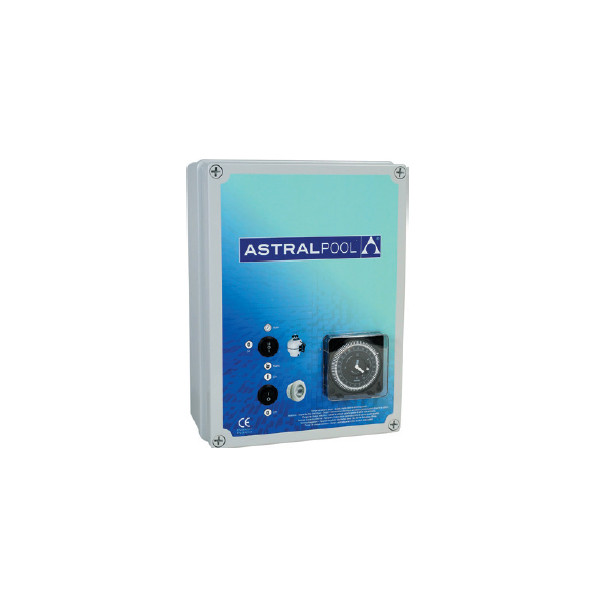 Coffret électrique pour filtration + 1 projecteur 300 W 4 à 6 A
