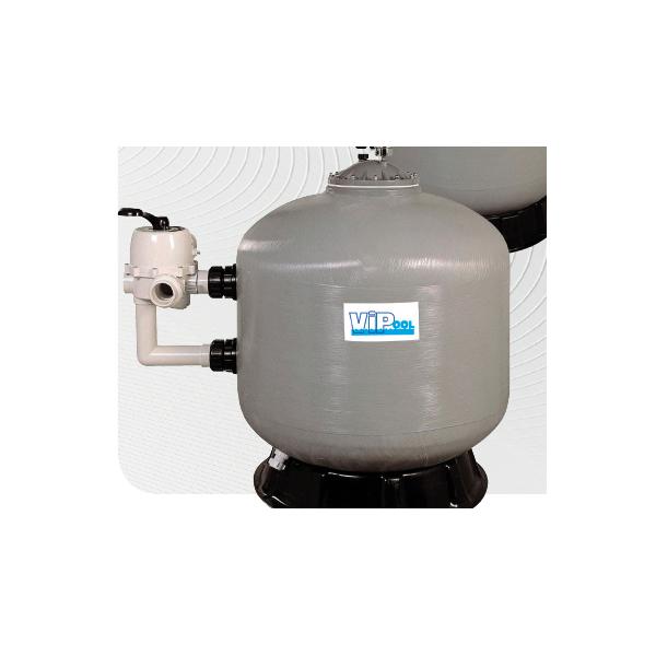 Filtre à sable ViPool Série bobiné SIDE 11 m3/h