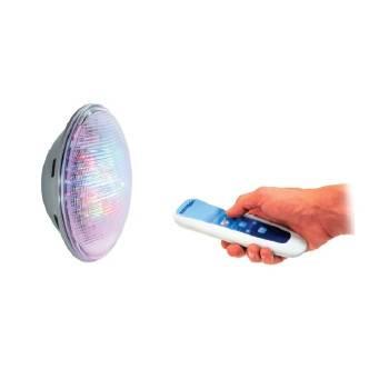 Kit LumiPlus 2 ampoules PAR56 1,1 RGB + Télécommande Wireless