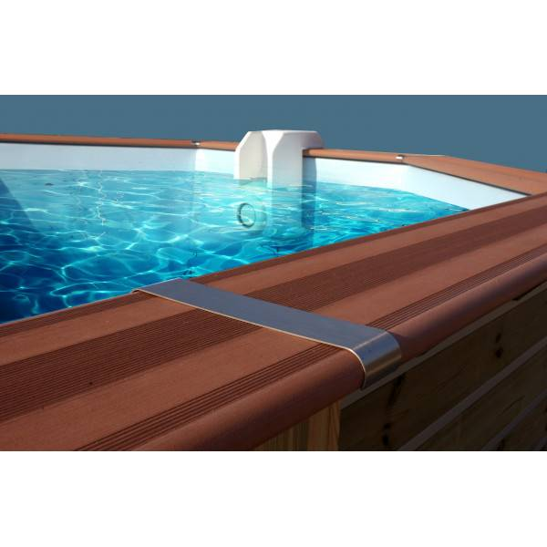 Piscine Bois Water'Clip RANDERS 590 x 420 h 129