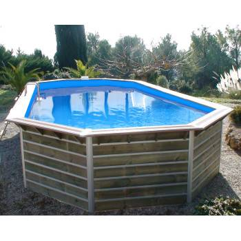 Piscine Bois Water'Clip RANDERS 890 x 420 h 129
