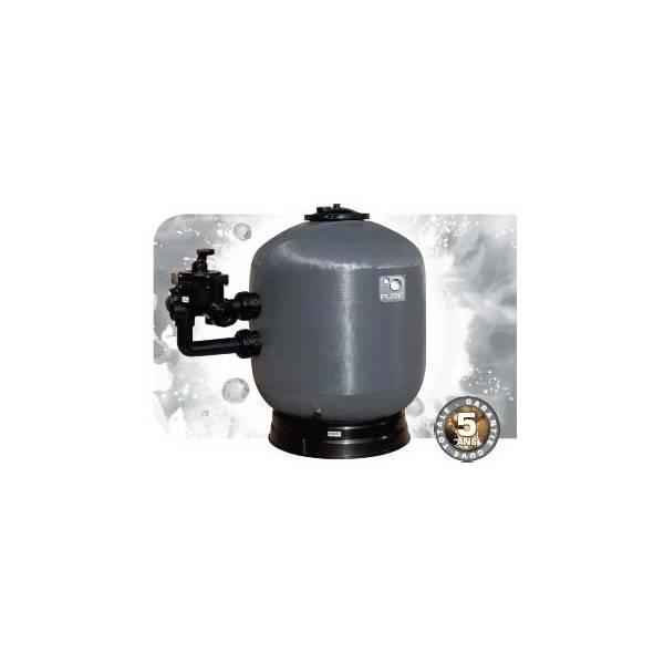 Filtre sable side 600 mm 14 m3h filtre sable bobin for Filtre eau piscine