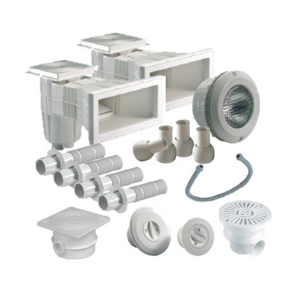 Astral Kit Pièces à Sceller Astral Piscine Liner 8 X 4 M