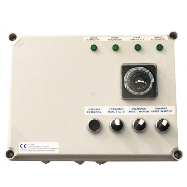 Coffret Variation Vitesse Astral Pompe de filtration Tri 3 cv