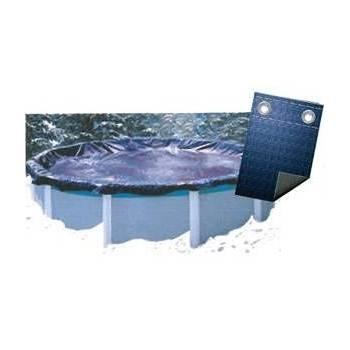 Bâche Couverture Hivernage Super Guard 80 g/m2 Diam. 7,31 m - pour piscine 6,40 m