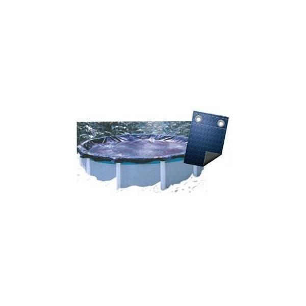 Bâche Couverture Hivernage Super Guard 80 g/m2 Diam. 7,31 m avec Coversaver