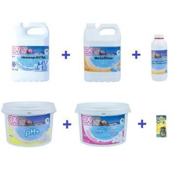 Kit Hivernage Produits chimiques Astral CTX Spécial filtre à sable