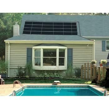 Chauffage solaire Smartpool pour piscine enterrée, lot de 2 capteurs de 3,72 m2 soit 7,44 m2