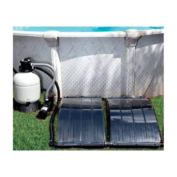 Panneau solaire smartpool solar arc pour piscines hors sol for Chauffage solaire piscine